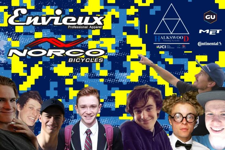 Envieux Norco Team 2017 announcement
