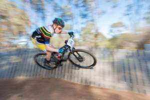 Jas on the wall from Bendigo 6. Photo by Open Shutter Photography.
